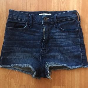 Abercrombie and Fitch kids high rise shorts